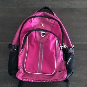 Swiss Gear SA3192 Pink with Black Laptop Backpack